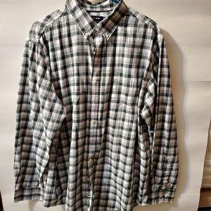 Croft barrow xl Men Button down Shirt Grey/black